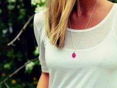 Must have :) Pink, Ag náhrdelník