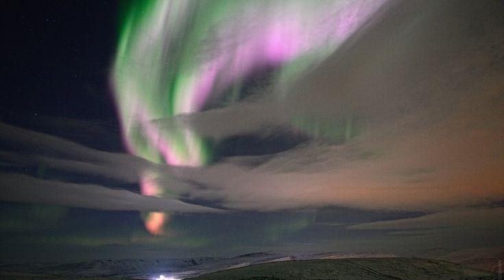 Auroras boreales desde Norilsk, Rusia | El Universo Hoy