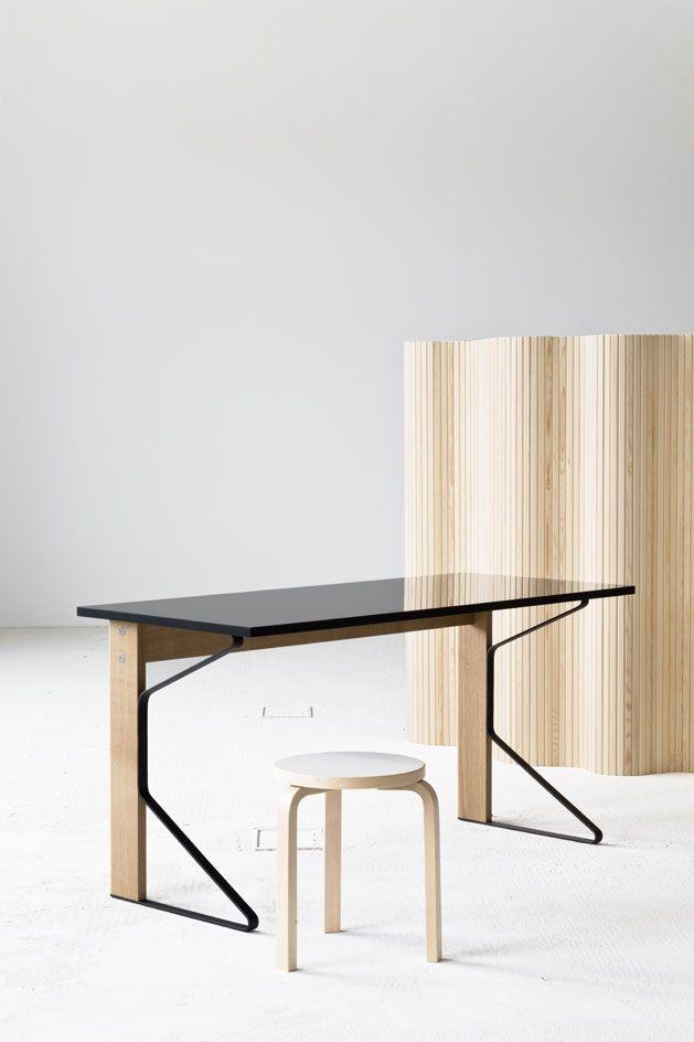 Bureau Kaari REB 005   ARTEK   Bouroullec Scandinavian Design.fr