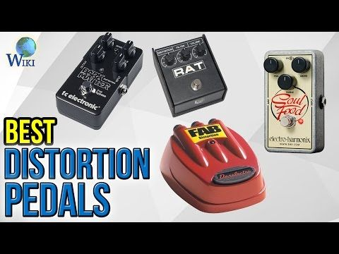 10 Best Distortion Pedals 2017 - YouTube