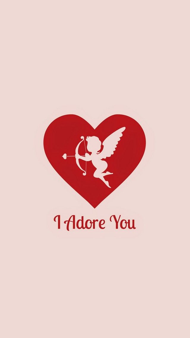I Adore You. Happy Valentine's Day! Tap to see more Valentine's & Love iPhone & Android wallpapers, backgrounds, fondos! - @mobile9