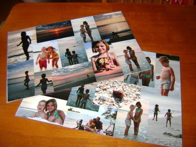 Homemade Gift Idea: Laminated Photo Place Mats - Mommysavers.com | Online Coupons  Savings