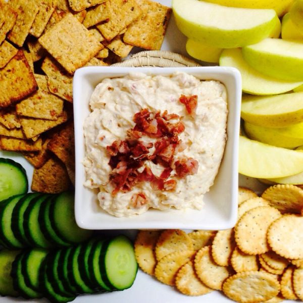 Bacon Cheddar Dip - Appetizer