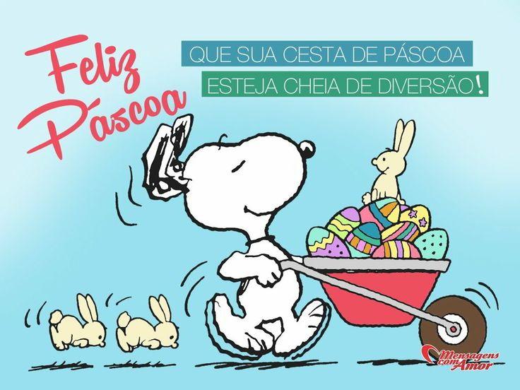 Feliz Páscoa. Que sua cesta de páscoa esteja cheia de diversão!