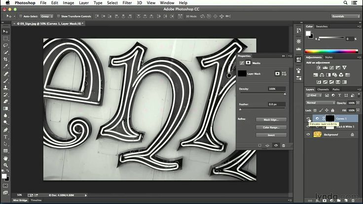 CC tutorial Converting color to black and white
