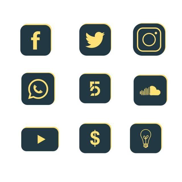أيقونات مواقع التواصل الاجتماعي أيقونات وسائل التواصل الاجتماعي وسائل التواصل الاجتماعي شعار وسائل التواصل الاجتماعي Png وملف Psd للتحميل مجانا Social Media Icons Social Media Logos Icon