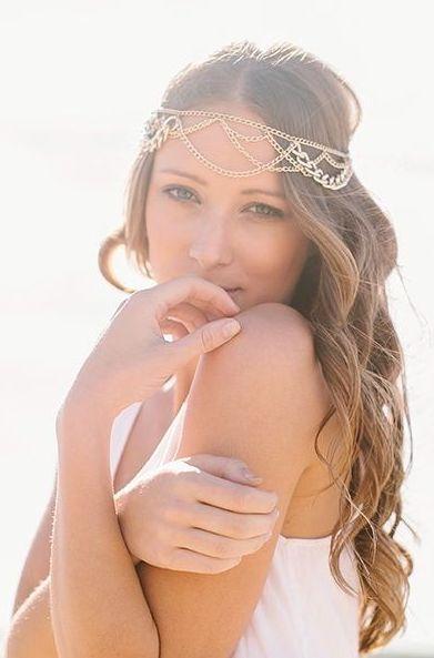 Beautiful veil alternative