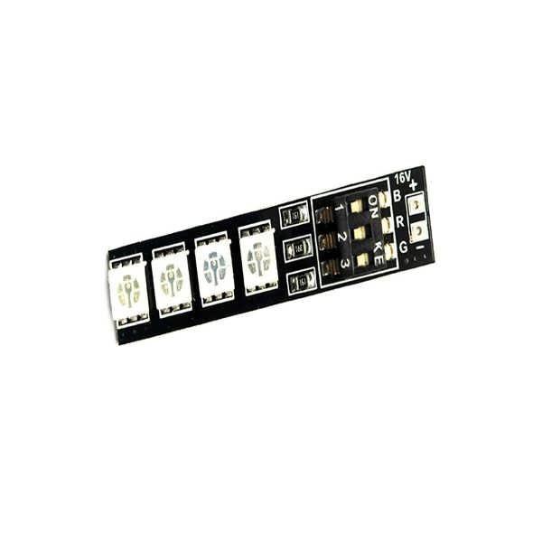 Matek RGB 5050 LED Lamp Panel 16V 4S Lipo 7 Colors Switch For FPV Helicopter Multi-axis     Description: Brand name: Matek Item No: RGB 5050 Input power: 14~17V DC,4S Lipo Battery Size:...