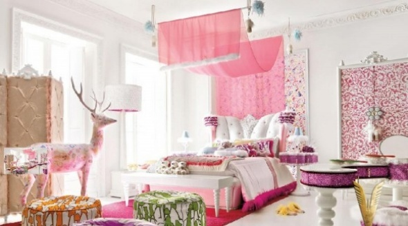 Attractive Wonderful Little Girls Bedroom Ideas : Awesome Colorful Little Girls  Bedroom Decorating Ideas