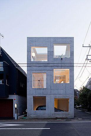 House H - Tokyo - Japan by Sou Fujimoto Architects