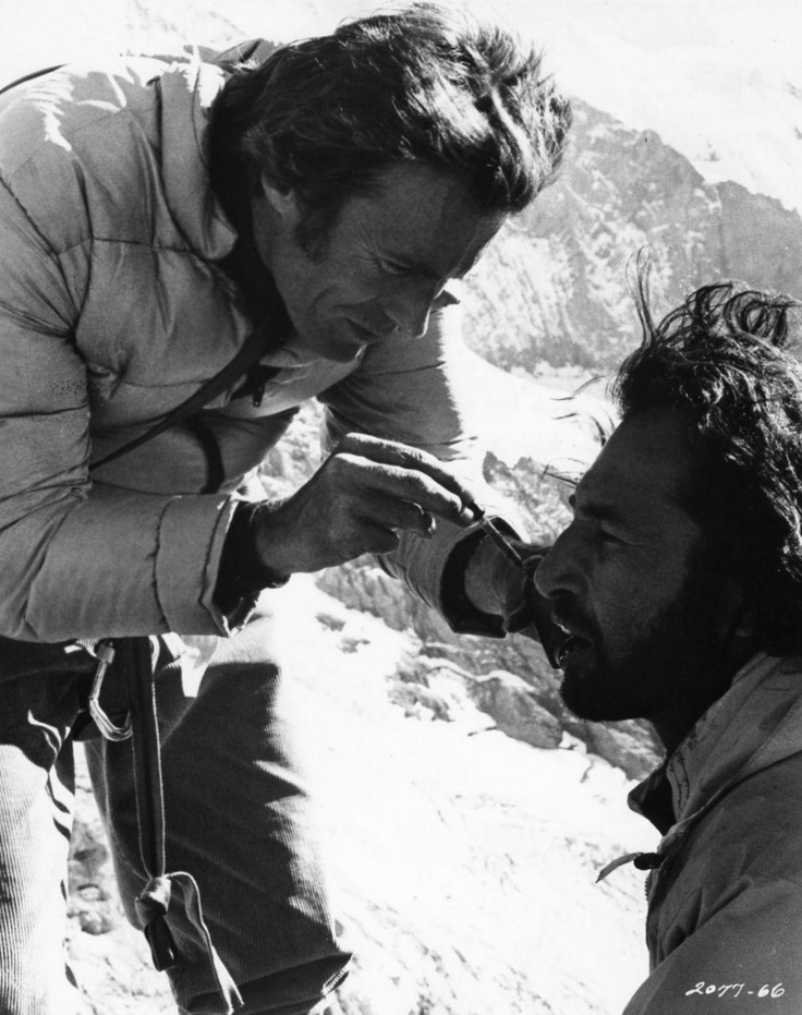 'The Eiger Sanction' - 1975...love this movie, love Clint Eastwood...