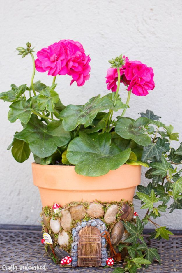 Magical DIY Fairy House Planter | 12 Useful DIY Projects for Moms