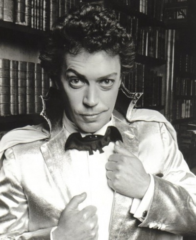 "Tim Curry in ""The Worst Witch"" . Possibly the campiest made for tv film ever. Diana Rigg turned me."