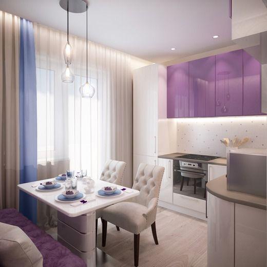 Кухня в двухкомнатной квартире г. Химки. Кухня