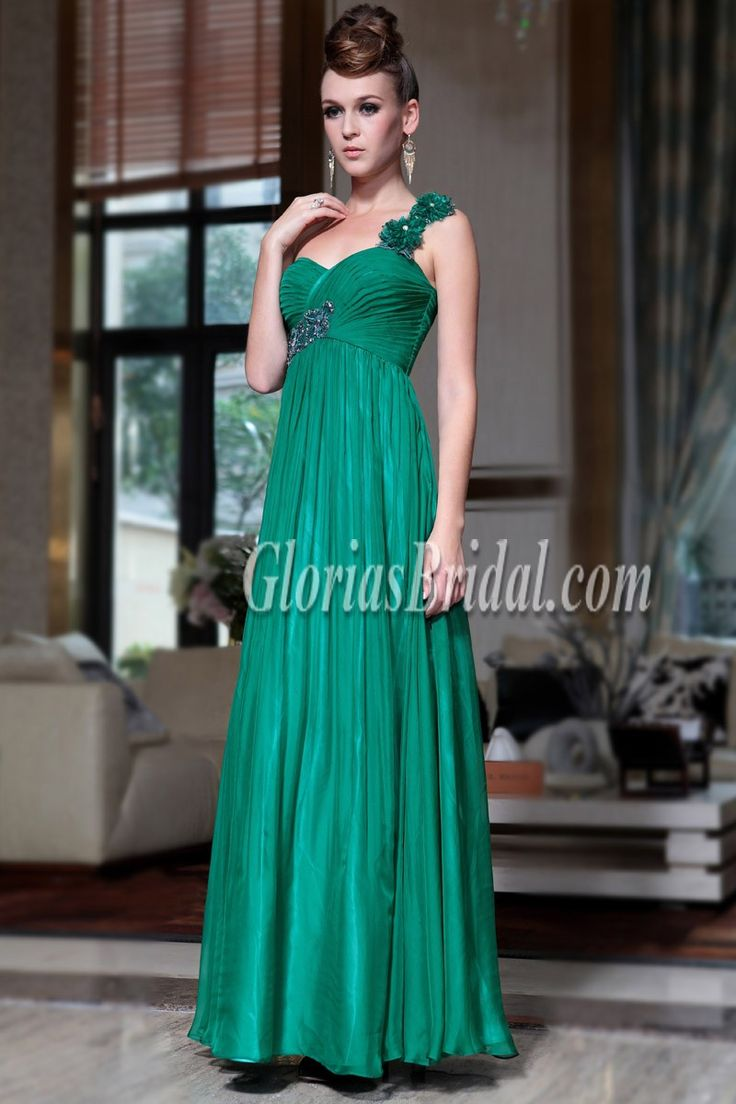 Will you take this elegant evening dress to your prom?