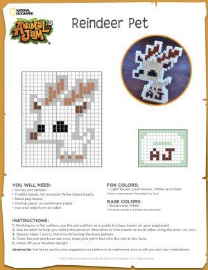 Animal Jam Reindeer Pet Craft