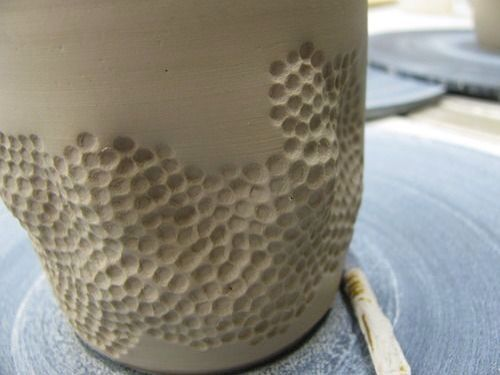 Kuiltjes maken met de gum van je potlood