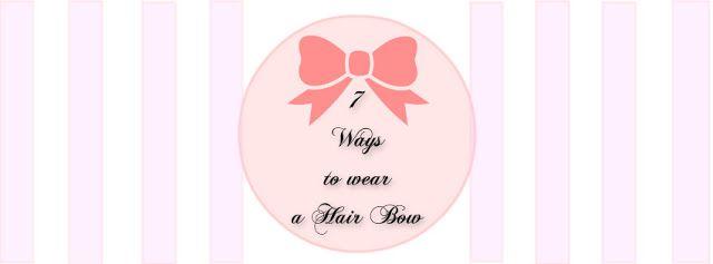 Bows on Hair!