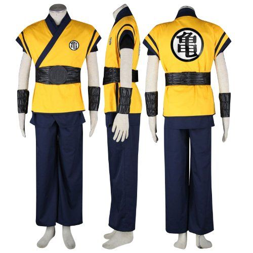 Dragon Ball Cosplay Costume - Son Goku Outfit 3nd Movie XXX-Large  #Dream2Reality #Apparel