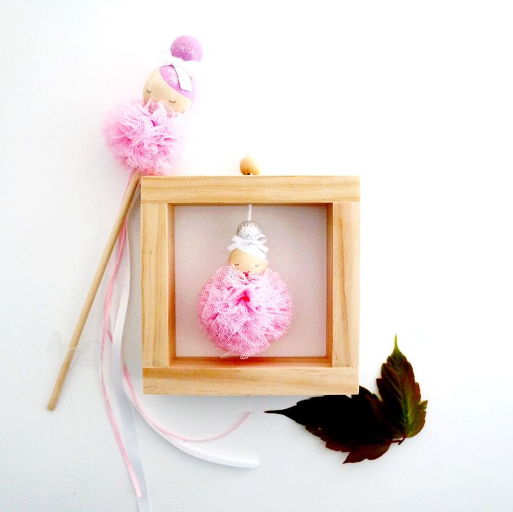 Our handmade ballerina decor is beautifully handmade and perfect for completing any little girl's room.