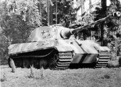 World War II German King Tiger tank.