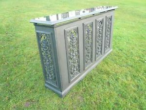 Carron Cast Iron Radiator Cover With a Granite Top