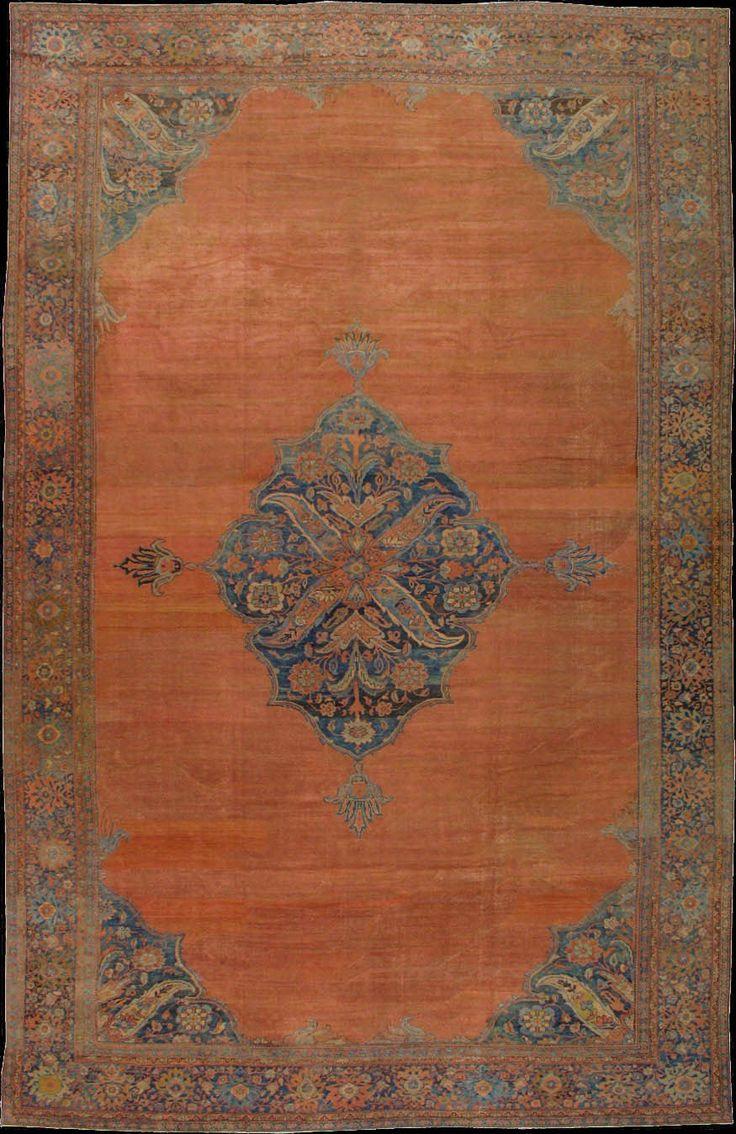 Persian Sarouk Farahan rug,  1900