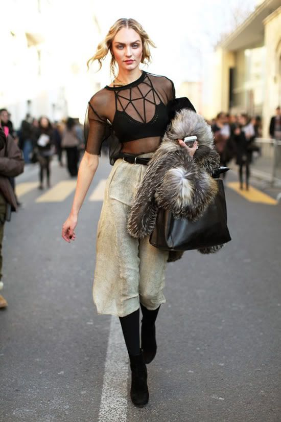 Candice Swanepoel #streetstyle #fashion #modeloffduty