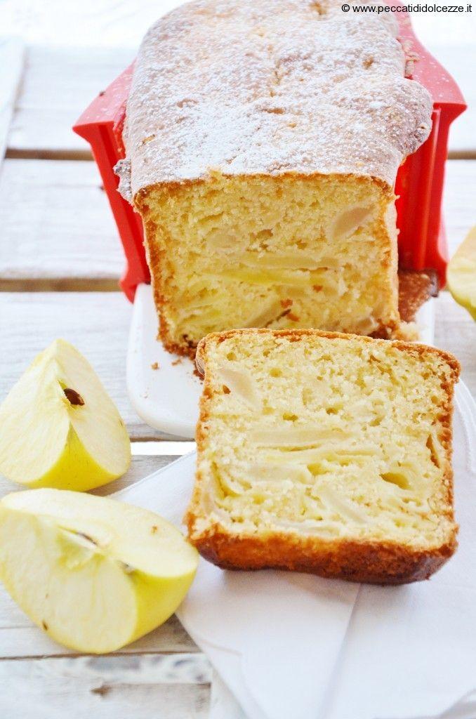 Cake Light Alle Mele e Limone( farina di riso )