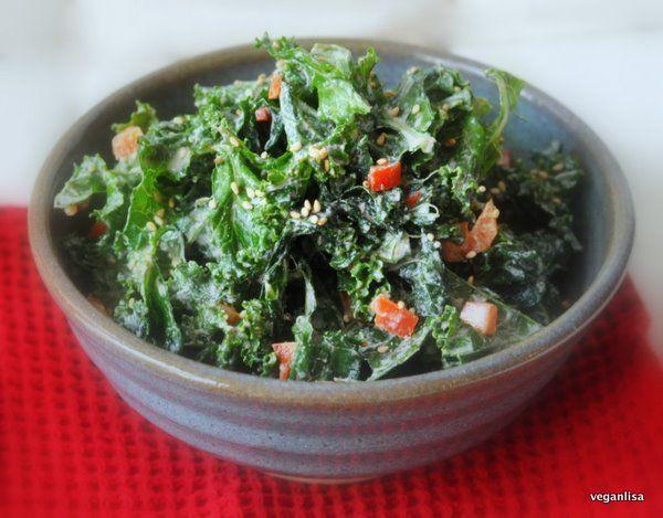 ... to the Kale Salad | Kale | Pinterest | Kale, The o'jays and Salads