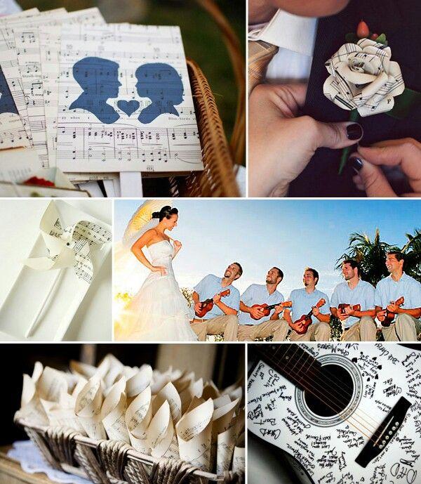 More Ideas Music Themed Wedding