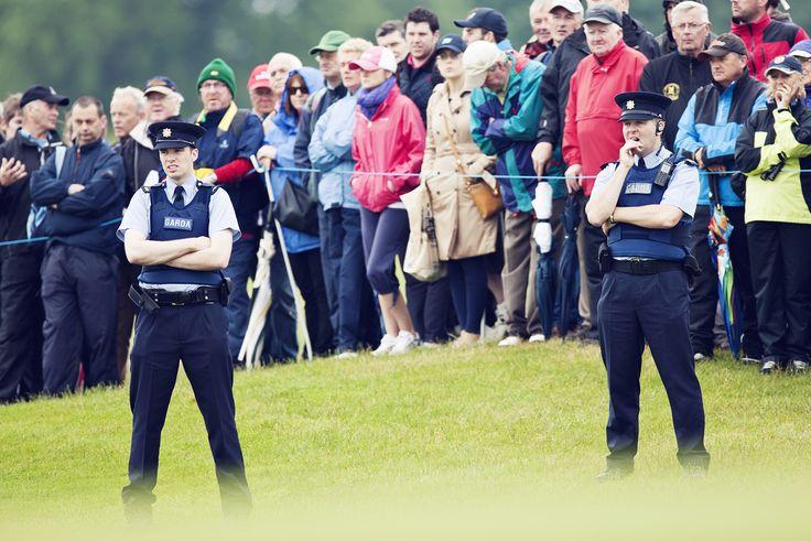 Crowds gather at The Irish Open
