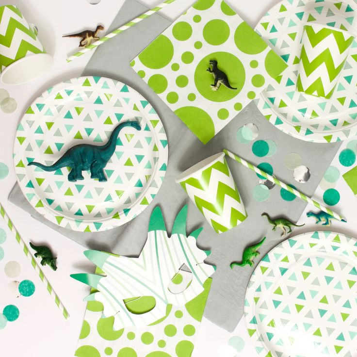 Dinosaur Party Tableware   Dinosaur Roar Party Kit   Complete Party in a Box by…