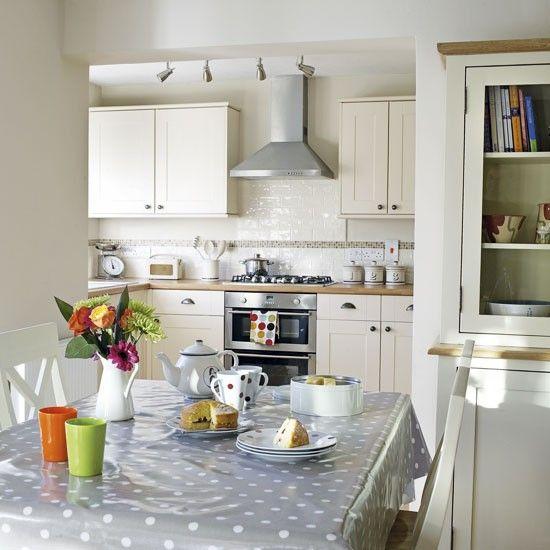 Neutral kitchen-diner | Kitchen ideas | Image