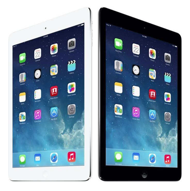Apple iPad Air 1st Generation 16GB, Wi-Fi Only, 9.7in - Silver or Space Gray #Apple