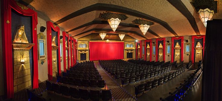Los Angeles -- The Vista Theatre in Silver Lake. Tinseltown takes its movie theaters very seriously. Single-screen 1923 movie house, still kitschy.