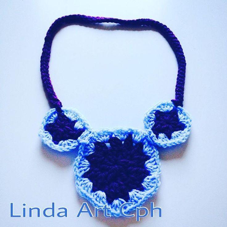 #crochet #crochetlove #necklace #accessories #københavn #copenhagen It is a last year project