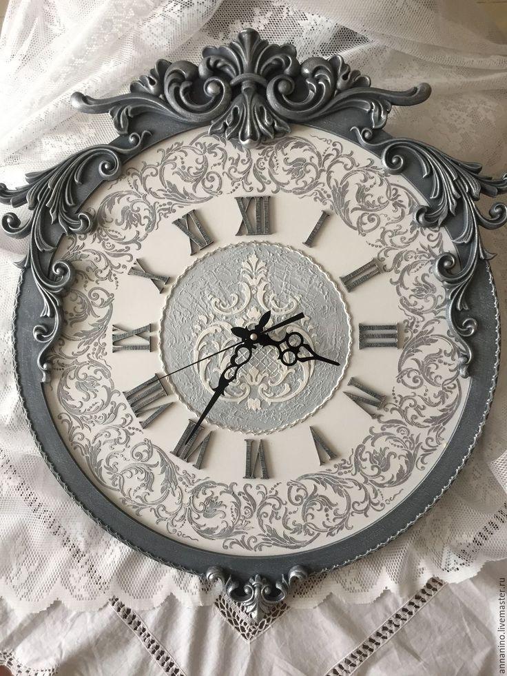 Купить или заказать Часы настенные, коллекция Барокко Лондон в интернет магазине на Ярмарке Мастеров. С доставкой по России и СНГ. Материалы: акриловые краски, акриловый лак,…. Размер: 63х50 см