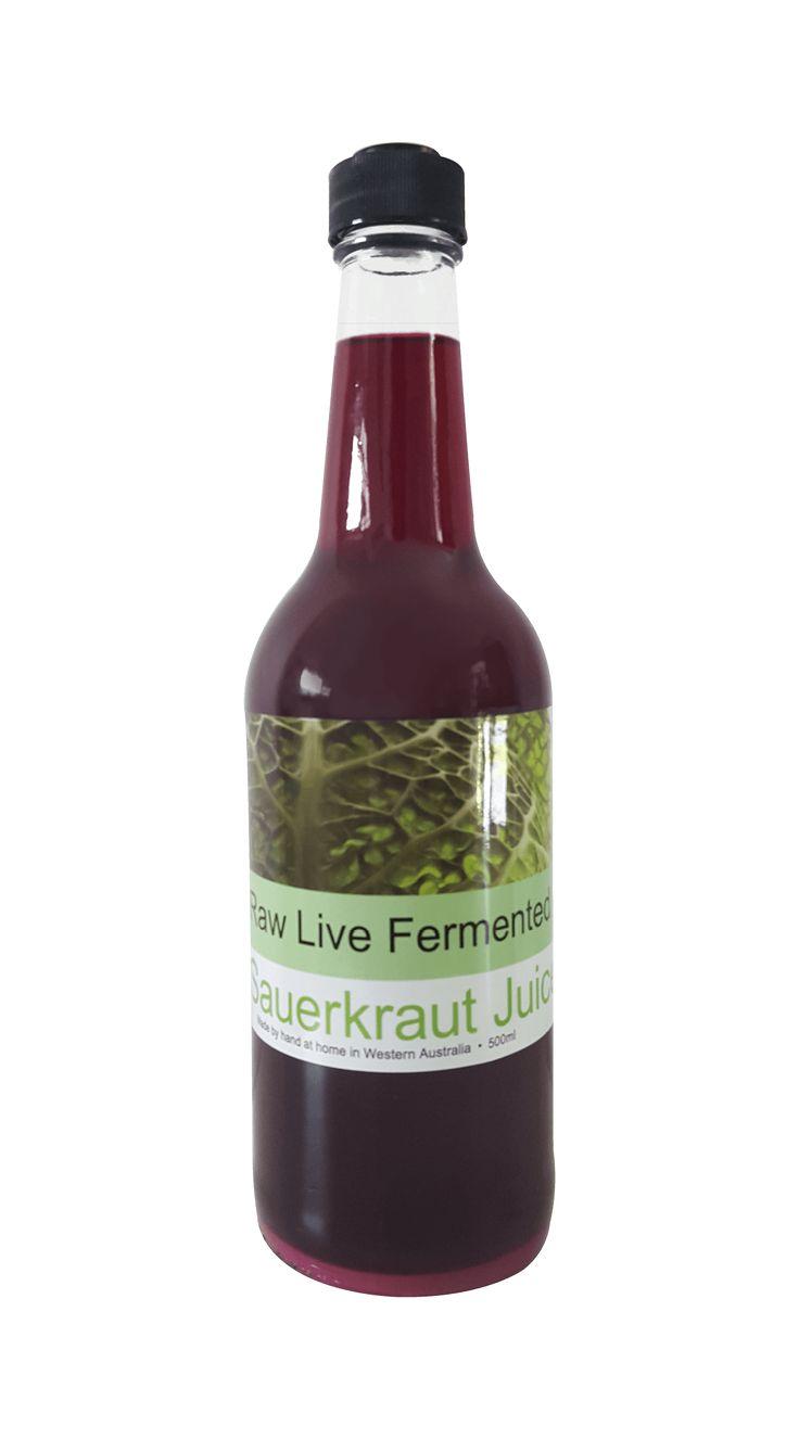 Bio Kraut Sauerkraut Juice