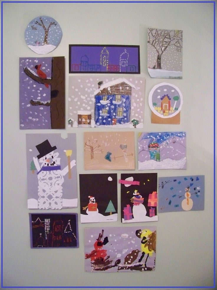 Creative ways to display & share the kids' artwork during the holidays (so it's not just hanging on the fridge ;)  The kids will love to help decorate with their masterpieces!