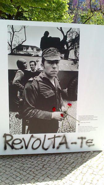 """Aniversário da Revolução dos Cravos, """"Revolta-te"""" Lisboa, 2014"""