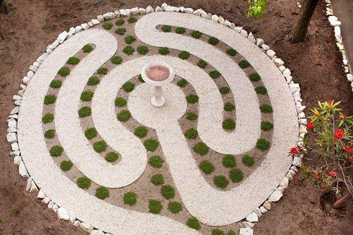 17 best images about labyrinths on pinterest gardens for Garden design hobart