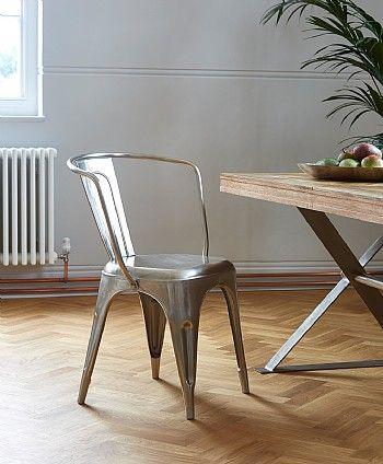 Artisan Metal Carver Chair