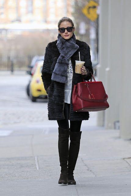 Olivia Palermo in Brooklyn