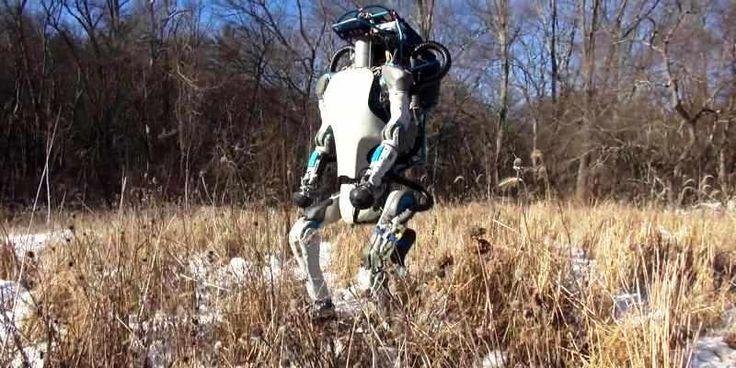 Canggihnya Kemampuan Robot Atlas Buatan Google