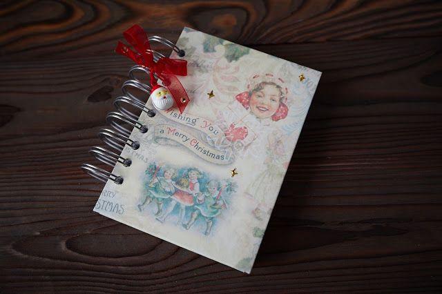 Блокноты и только :0): Новогодние блокноты