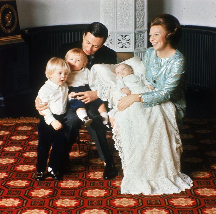 De doop van prins Constantijn