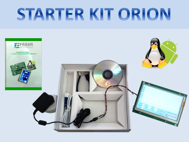 Starter Kit ORION: embedded systems within the reach of developers