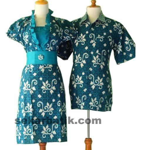 baju batik sarimbit couple modern SB26 koleksi selengkapnya di http://sekarbatik.com/batik-sarimbit-couple/