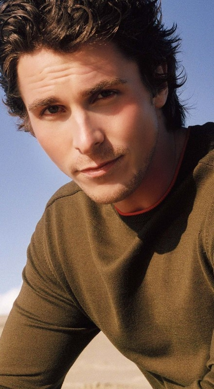 Christian Bale....he can be my batman and visit my cave.